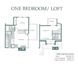 1 Bedroom With Loft Floor Plans by One Bedroom Loft Floor Plan 2 Pictures To Pin On Pinterest