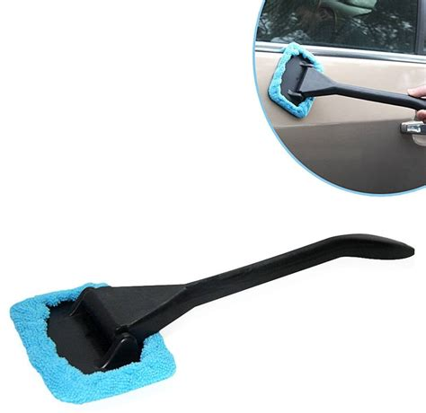Microfiber Pembersih Kaca Mobil sikat pembersih kaca mobil bersihkan debu dan kotoran lebih cepat harga jual