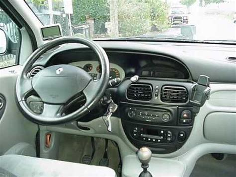 renault scenic 2001 interior renault scenic rx4 1 9 dci 2002 youtube