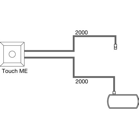 Touch Me L by Sensorschalter Touch Me L 35 B 35 Mm 12 V Dc Max 30 W Wei 223