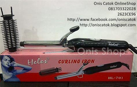 Catok Curly Wigo catokan curly heles curling iron hl 701