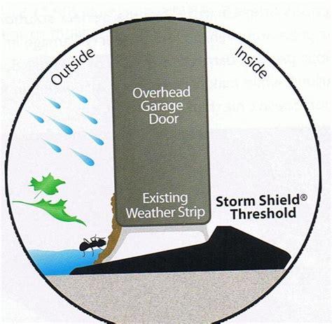 Shield Garage Door Threshold by Garage Door Weatherstrip Ottawa Garage Door Service