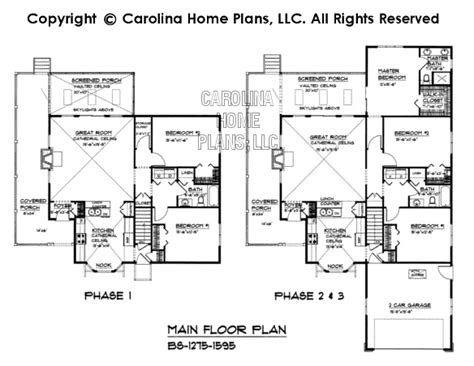 build in stages house plans 3d images for chp bs 1275 1595 ad build in stages 3d