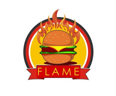 logo burger clipart