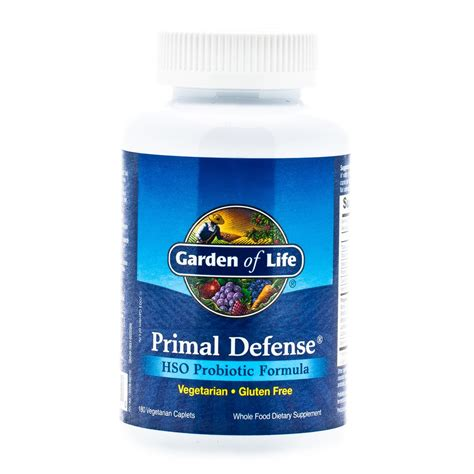 garden of primal defense probiotic 180 veg capsules