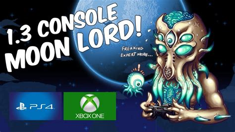 xbox 360 console update terraria 1 3 console update moon lord ps4 xbox one