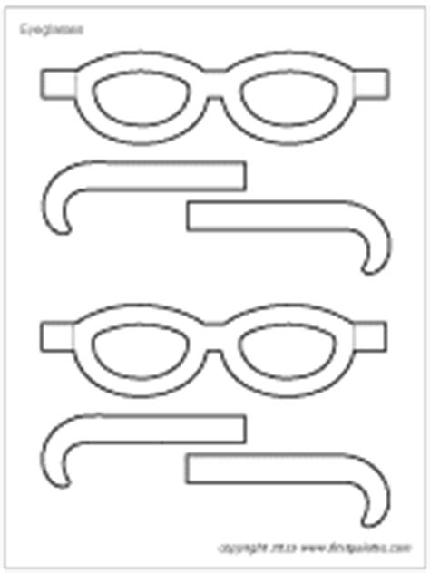 paper eyeglasses craft crafts firstpalette