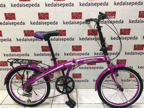 Pedal Sepeda Evergreen sepeda lipat 20 evergreen 120 8 kedai sepeda