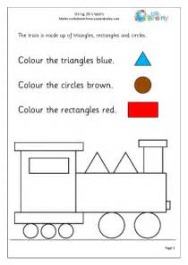 using 2d shape 1 geometry shape maths worksheets for