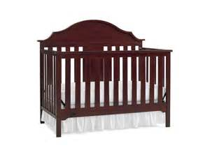 serta crib mattress serta hanover fixed side convertible crib classic cherry