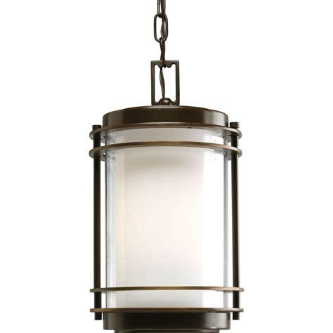 rubbed bronze kitchen pendant lighting shop progress lighting penfield 14 25 in rubbed bronze outdoor pendant light at lowes