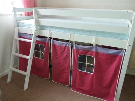 Shorty Beds Cabin by Shorty Mid Sleeper Shorty Cabin Bed With Tent