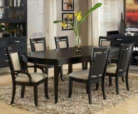 Black Dining Room Sets An Elegant Black Dining Room Sets