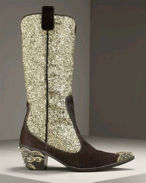 sparkly cowboy boots sparkly boots all that glitters