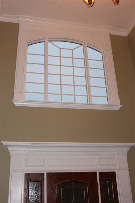 Foyer Window Privacy by Front Entry Foyer Window Custom Home Finish