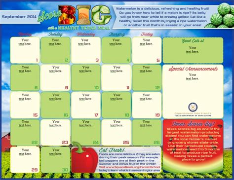 school menu templates free 2016 editable monthly calendar in excel calendar