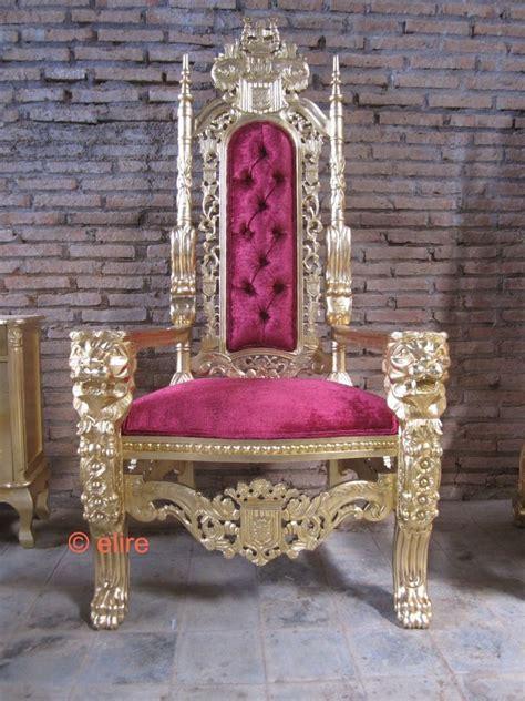 sweet 16 princess chair made to order bespoke king mahogany throne