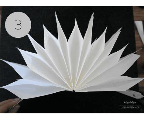Anleitung Papiersterne Falten by Diy Papiersterne Aus Butterbrot Papiert 220 Tchen Basteln