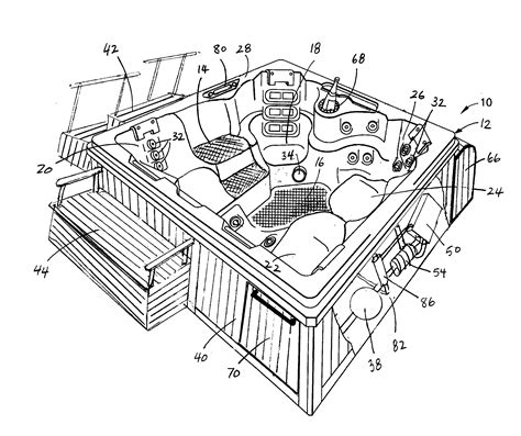 thermospa parts diagram patent us20070180607 temperature stabilized heating