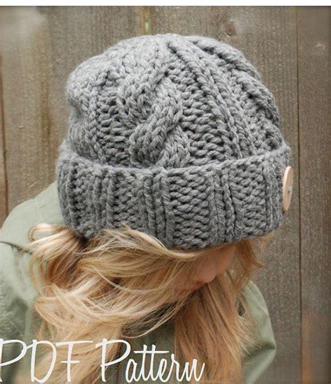 chunky knit hat pattern knitting pattern the beckett hat toddler child sizes