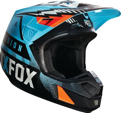 clearance motocross helmets 179 08 fox racing v2 vicious dot helmet 234777