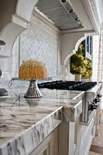 Calacatta kitchen countertop and backsplash
