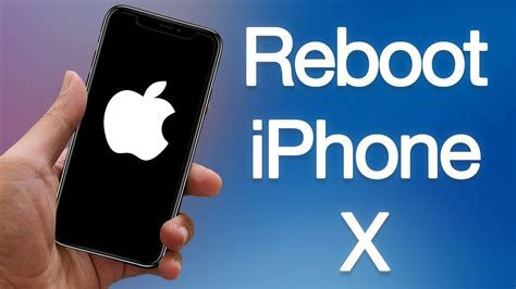 how to reboot iphone x xs xs max xr 3 ways to restart iphone 10 without home button
