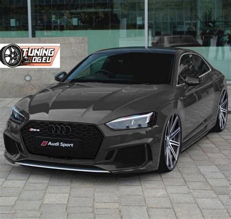 Audi A5 Coupe Tuning by Schwarzes Audi A5 Rs5 Coupe 2017 By Tuningblog Eu