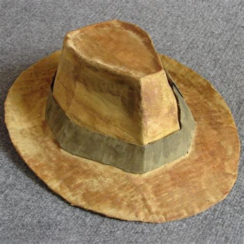 How To Make A Detective Hat Out Of Paper - how to make a fedora indiana jones
