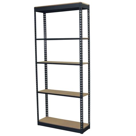 storage concepts 84 in h x 36 in w x 12 in d 5 shelf