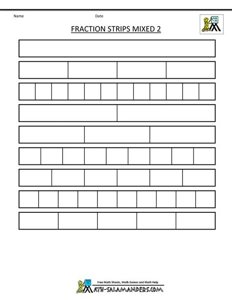 printable math worksheets fraction bars fraction bars worksheet free worksheets library download