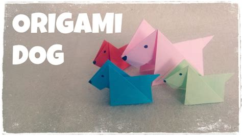 tutorial origami dog free coloring pages origami for kids origami dog tutorial