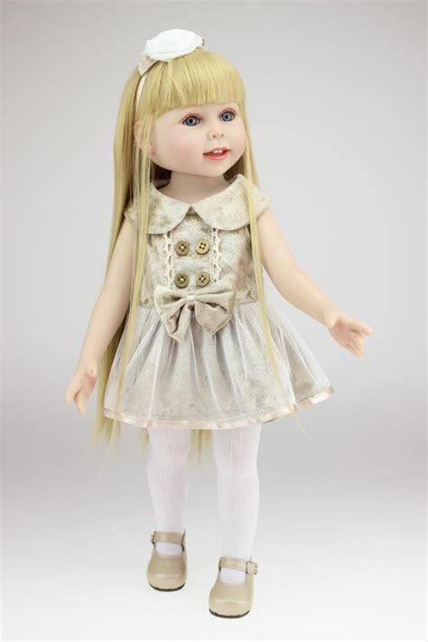 Girlset Doll american dolls for baby birthday gift vinyl lifelike