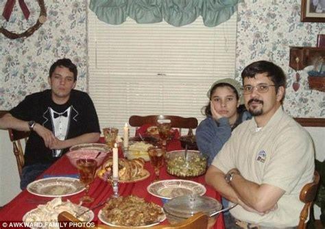 awkward family  captures  magic  thanksgiving