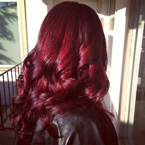 Different Mahogany Hair Color Styles | 49 of the most striking dark red hair color ideas