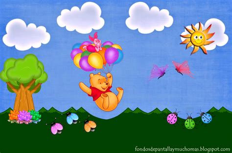 imagenes de winnie pooh sin fondo imagenes para fondo de pantalla de winnie pooh beb 233