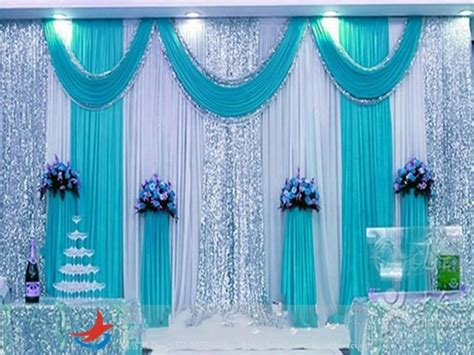 Background 2 5m X 3m 3m 4m 3m 6m 4m 8m silk wedding backdrop swag