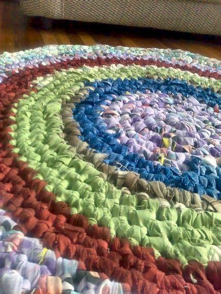 crochet rag rug tutorial 1000 images about rag rugs on rag rug tutorial rag rug diy and denim rug
