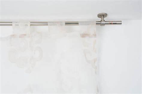 bastoni per tende a soffitto bastone per tende in acciaio satinato 216 20mm con supporto