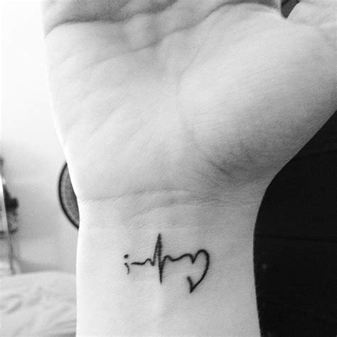 ekg tattoo meaning 20 semicolon tattoos