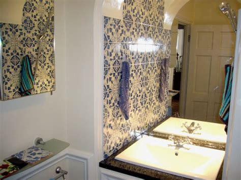 Bathroom Artwork Ideas London Bathroom With Our Portuguese Traditional Tiles
