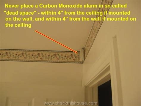 where to place a smoke detector in a bedroom carbon monoxide alarm detector locations where to