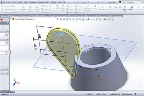 solidworks tutorial nut tutorial modeling wing nut in solidworks grabcad