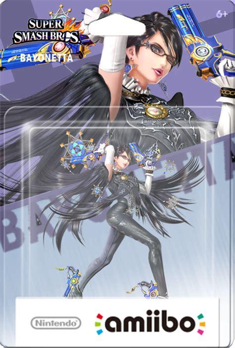 Amiibo Bayonetta Smash Bros Series amiibo bayonetta smash bros boxart by oriali31 on deviantart