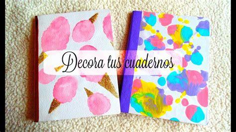imagenes para decorar mis fotos decora tus cuadernos 2 ideas hazlo tu mismo youtube