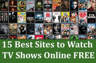 best site to tv shows 15 best websites to tv shows free