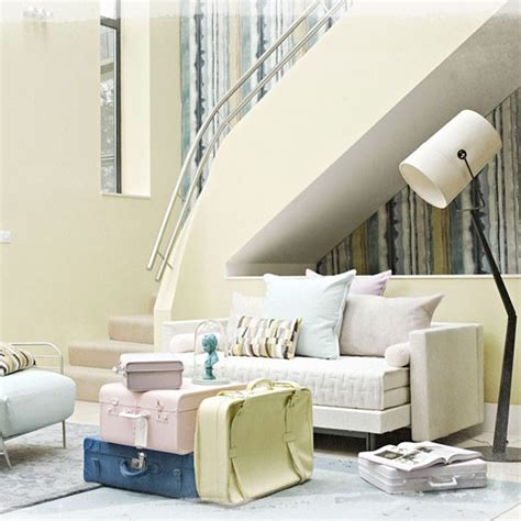 Pastel Yellow Living Room by Pastel Living Room Neutral Living Room Housetohome Co Uk