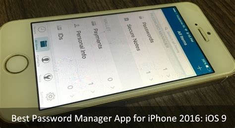best free password manager app best password manager app for iphone 2016