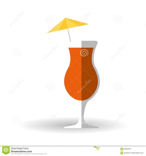 cocktail icon vector cocktail icon design vector illustration stock vector