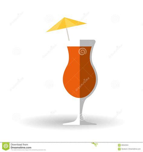 cocktail icon vector cocktail icon design vector illustration stock vector